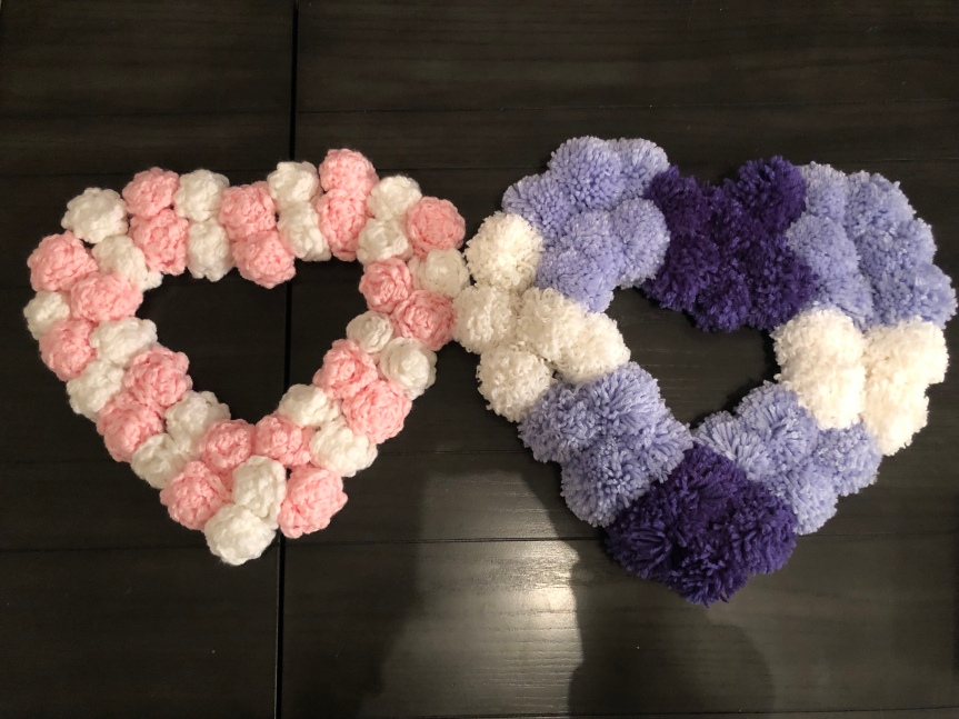 I Love You Lots: Heart Wreath Pattern